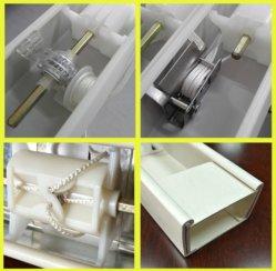 Binnenhuisarchitectuur 50mm de Lage Blinde Toebehoren van het Venster van het Spoor van het Profiel Hoofd
