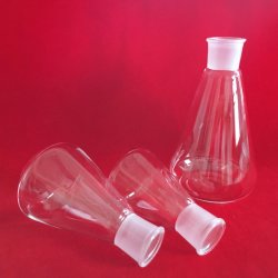 Laboratorium Clear Borosilicaatglas Conical-Kolf
