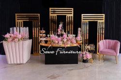 Achtergrond van het Huwelijk van de Achtergrond van het Stadium van het Huwelijk van de Bloesem van de luxe de Witte Bloemen Acryl voor Verkoop