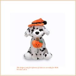 Regalo macchiato molle del commercio all'ingrosso del cane della decorazione del Halloween
