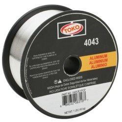 De Draad van het Lassen van de Legering van het Aluminium van Aws Er4043 0.81.6mm voor het Lassen van het Schip