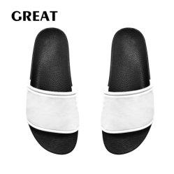 Pantoffel van de Mensen van pvc van de Douane van Greatshoe de Binnen, het Unisex-Schoeisel Sandals van de Dia