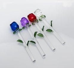 Haute qualité cristal coloré rose (KS06033)