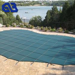 Tampa de segurança da cobertura piscina exterior abrange Inground cobertura piscina de malha de segurança
