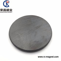 Super Ferrite Magnético grande disco magneto Material Industrial