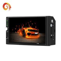 Oferta más barata de fábrica en 7012 China 2DIN de 7 pulgadas de Buit en BT USB SD Multilingüe la pantalla táctil el reproductor de DVD estéreo para coche coche