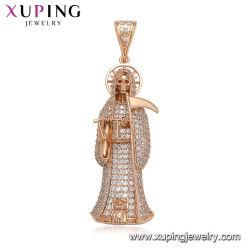 Juwelen van de Tegenhanger van Kerstmis van de Halsband van de Gift van Halloween van het Been van de Goeroe van de manier de Hoofd