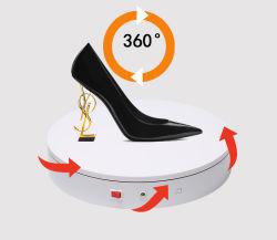 Акрил Вращающаяся подставка для дисплея для обуви
