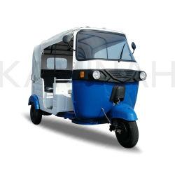 Triciclo elettrico di Dcbl 4000W per il triciclo elettrico della rotella del risciò TV 3 di Trike Tuk Tuk Bajaj della rotella di Passanger tre