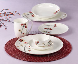 La vaisselle en céramique chinoise porcelaine Vaisselle floral bleu