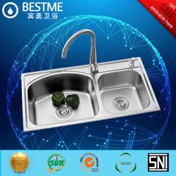 Корпус из нержавеющей стали кухонные раковину кухонные принадлежности (BS-8001-304L)