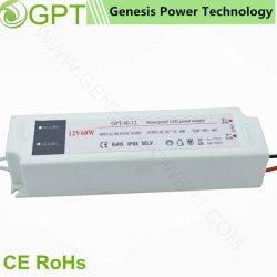 60W 24V 2.5A étanche de commutation AC DC alimentation par transformateur LED pour éclairage LED/bande/lampe/Billboard avec coque en plastique RoHS Ce