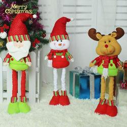 산타클로스 인형 크리스마스 훈장 선물 크리스마스 견면 벨벳 장난감 장신구