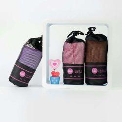 Bolsa de malla de microfibra de embalaje Deportes toallas con Logo, una toalla de Gym Logotipo personalizado
