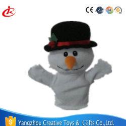 クリスマスのギフトの動物の整形手と指の詰められたパペットプラシ天