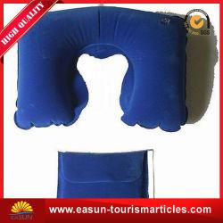 Belüftung-aufblasbares Stutzen-Luft-Kissen für das Reisen, Luftfahrt-aufblasbares Kissen