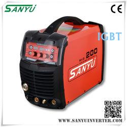 Fase Única Profissional Sanyu Inversor compacto MIG/MAG máquina de solda