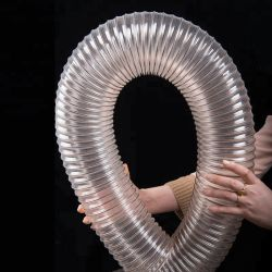 Commerce de gros Flex PU conduit flexible du tuyau de tubes de collection de poussière