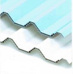 Twinwall upvc blanc en plastique multicouche Roofing feuilles pour l'entrepôt