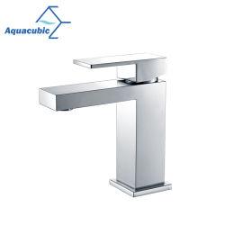 Salle de bains en laiton généralisée Cupc Aquacubic évier robinet (AF6028-6)