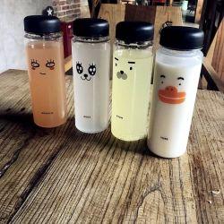 Bouteille d'eau en plastique sans BPA 500ml prix d'usine Sports Bouteille