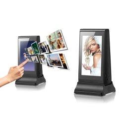 Réseau WiFi écran tactile LCD 7 pouces de signalisation numérique tableau annonce vidéo Player avec fonction de la Banque d'alimentation