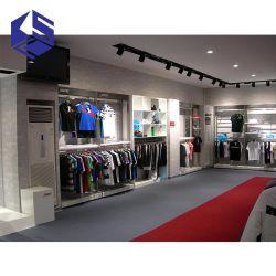 Form-Männerkleidung-System-Vorrichtungs-Entwurfs-hölzerne Kleidung-Regal-Bildschirmanzeige