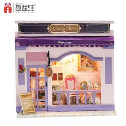 Mini Tienda europea de juguete de madera