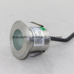LED 1 W en gros d'usine sous l'eau, de lumière LED lumière souterrain avec IP68