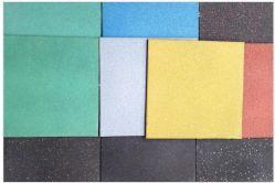 Le tapis de sol en caoutchouc résistant paver tuile en caoutchouc pour l'école