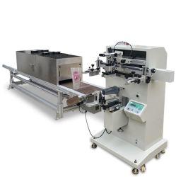 Machines d'impression de l'écran de sérigraphie cylindrique avec Four à séchage UV pour la coupe de la machine ou une grande tasse bouteille bracelet en silicone
