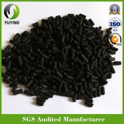 H2s la extracción de carbón activo impregnado de pellet de purificación de aire tratamiento de biogas