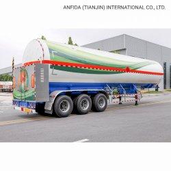 공장 가격 3축 액화 천연가스 LNG 탱커 컨테이너 벌크 배송 트럭 트레일러 트랙터 중부하 작업용 드럼 세미 트레일러 유조선