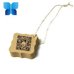 カスタム方法札のClothinの品質表示票のラベルペーパー