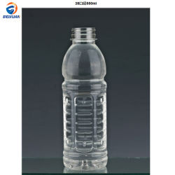 550ml 38cal Thermo-Filled de alta calidad botellas de plástico PET Botellas transparentes