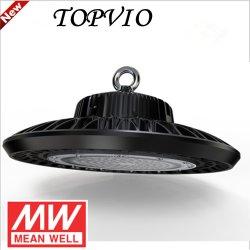 100W屋外の屋内高い発電高い湾UFO LED 100Wの軽い付属品5年の保証
