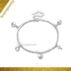 Мода украшения оптовой лавы камень с Парижем Циркон Diamond браслет с жемчугом