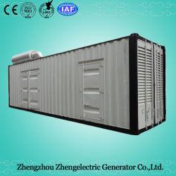 240квт/300Ква 50Гц водостойкой Doosan прицепа в режиме ожидания емкость дизельного генератора