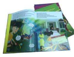 Impression de livres à couverture rigide pleine couleur / Enfants Service d'impression du livre
