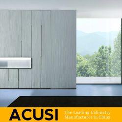 Venda por grosso de estilo simples e moderno quarto porta articulada roupeiro (SCA3-S08)