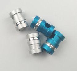 Auriculares de metal pintado directamente en el tapón de doblar las curvas de cola de Auriculares accesorios Accesorios Tapón de desgaste y resistencia al rayado auricular