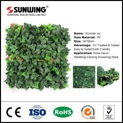 Commerce de gros mur UV Vert vertical coté jardin dans le semoir