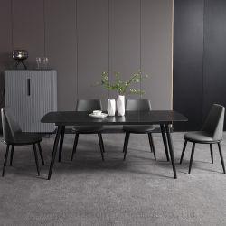 Muebles de Comedor juegos de mesa y sillas de metal (SP-DT118)