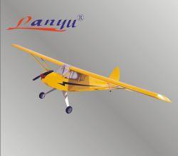 Lanyu- Piper J3カブスElectric RC Plane Model Balsa Wood 1190mm (ARF)