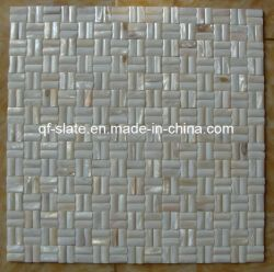 Natürliches Wand-Shell-Mosaik (M-QF04)