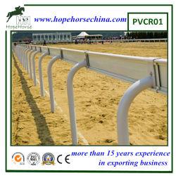 La alta calidad de vinilo de carreras de caballos Rail