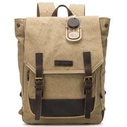 أفضل حقيبة ظهر قماش تخييم Knapbets المشي لمسافات طويلة Rucksack باك حزمة لكلية