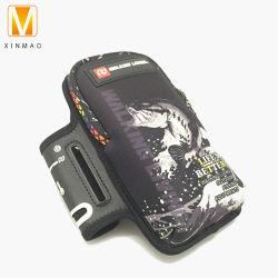 네오프렌 최고의 러닝 폰 홀더 케이스 팔 밴드 스트랩 지퍼 휴대 전화 팔 백이 다채롭습니다