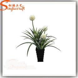 Künstliches Bonsai Flower Big Ball Orchid Plant für Decoration