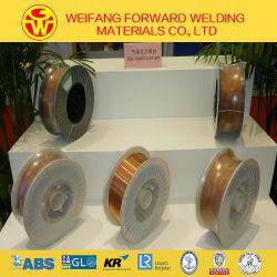 1,2 mm 15 kg/Spool ER70S-6 sólido escudo de gas CO2 Cable de soldadura sg2 recubierto de cobre con ISO9001: 2008